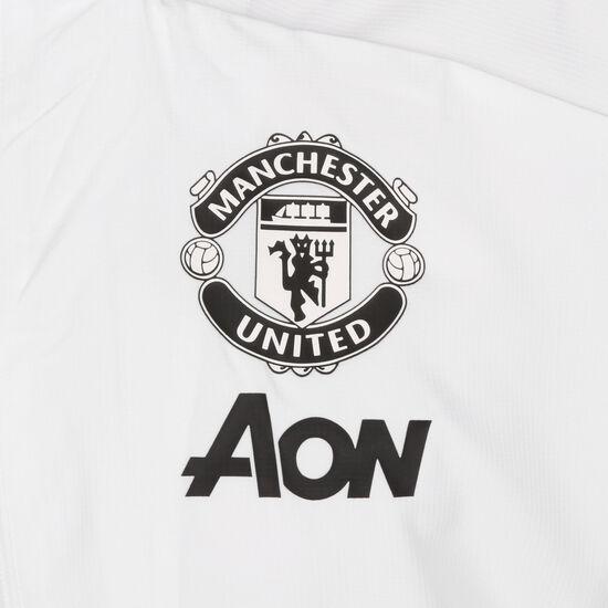 Manchester United Präsentationsjacke Herren, weiß / schwarz, zoom bei OUTFITTER Online
