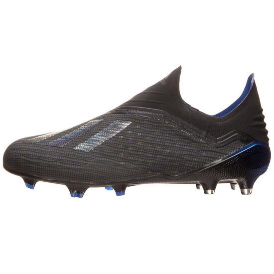 X 18+ FG Fußballschuh Herren, schwarz / blau, zoom bei OUTFITTER Online