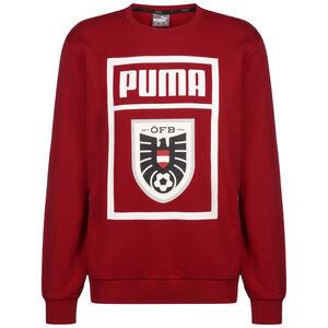 Österreich DNA Sweatshirt EM 2021 Herren, rot / weiß, zoom bei OUTFITTER Online