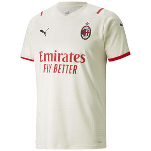 AC Mailand Trikot Away 2021/2022 Herren, creme / rot, zoom bei OUTFITTER Online