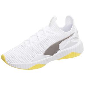 Defy Trailblazer Sneaker Damen, weiß / gelb, zoom bei OUTFITTER Online