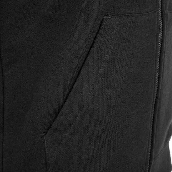 Essential Hoodie Kapuzenjacke Damen, schwarz / weiß, zoom bei OUTFITTER Online