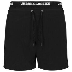 Two in One Swim Shorts Herren, schwarz / weiß, zoom bei OUTFITTER Online