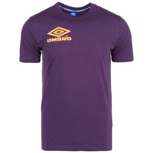Classico Crew T-Shirt Herren, lila / gelb, zoom bei OUTFITTER Online