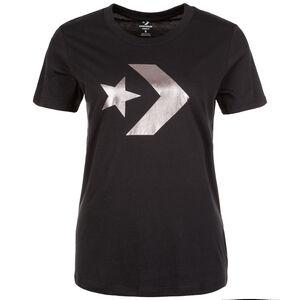 Star Chevron Metallic Crew T-Shirt Damen, schwarz, zoom bei OUTFITTER Online