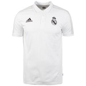 Real Madrid Poloshirt Herren, weiß / grau, zoom bei OUTFITTER Online