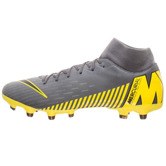 Mercurial Superfly VI Academy DF MG Fußballschuh Herren, dunkelgrau / schwarz, zoom bei OUTFITTER Online