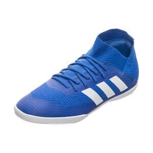 Nemeziz 18.3 Indoor Fußballschuh Kinder, Blau, zoom bei OUTFITTER Online