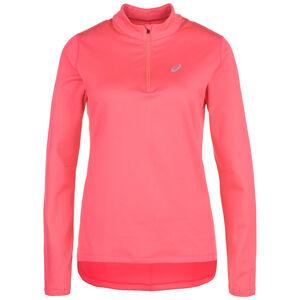 Silver Longsleeve 1/2 Zip Winter Damen, pink, zoom bei OUTFITTER Online