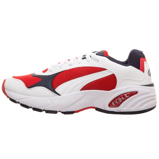 Cell Viper Sneaker Herren, weiß / rot, zoom bei OUTFITTER Online