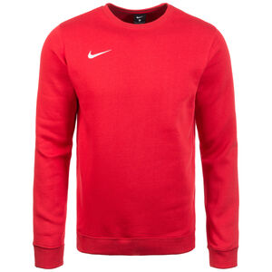 Club19 Crew Fleece TM Trainingssweat Herren, rot / weiß, zoom bei OUTFITTER Online