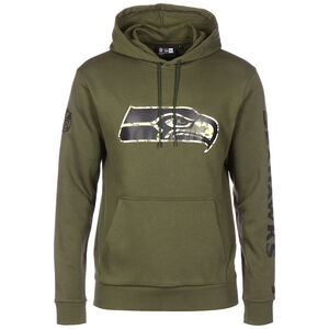 NFL Seattle Seahawks Digi Camo Kapuzenpullover Herren, grün, zoom bei OUTFITTER Online