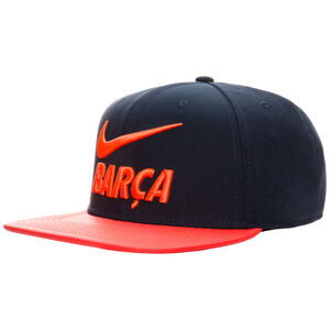 FC Barcelona Pro Pride Snapback Cap, dunkelblau / korall, zoom bei OUTFITTER Online