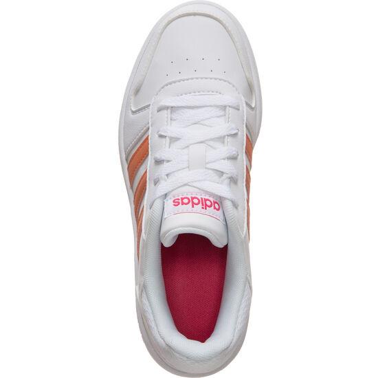Hoops 2.0 Sneaker Kinder, weiß / korall, zoom bei OUTFITTER Online