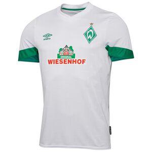 SV Werder Bremen Trikot Away 2021/2022 Herren, weiß / grün, zoom bei OUTFITTER Online