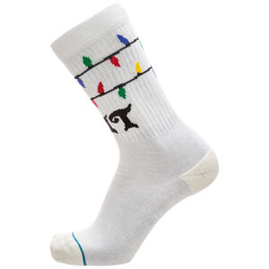 Foundation Its Snow Lit Socken, weiß / bunt, zoom bei OUTFITTER Online