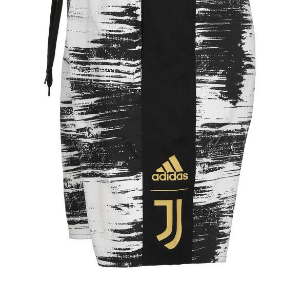 Juventus Turin CLX Badeshort Herren, schwarz / weiß, zoom bei OUTFITTER Online