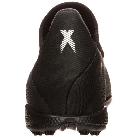 X 19.3 TF Fußballschuh Herren, schwarz / silber, zoom bei OUTFITTER Online