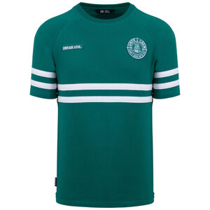 DMWU T-Shirt Herren, grün / weiß, zoom bei OUTFITTER Online