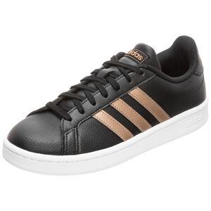 Grand Court Sneaker Damen, schwarz / gold, zoom bei OUTFITTER Online