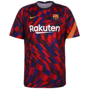FC Barcelona Breathe Trainingsshirt Herren, rot / blau, zoom bei OUTFITTER Online