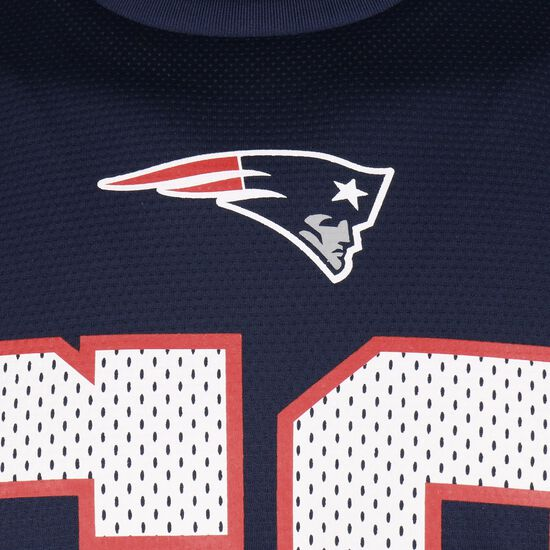 NFL New England Patriots Supporters T-Shirt Herren, blau / weiß, zoom bei OUTFITTER Online