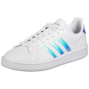 Grand Court Sneaker Damen, weiß / blau, zoom bei OUTFITTER Online