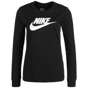 Essential Icon Sweatshirt Damen, schwarz / weiß, zoom bei OUTFITTER Online