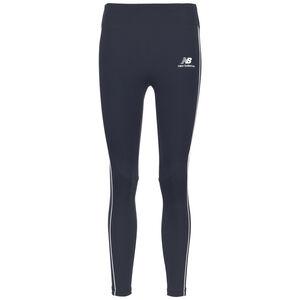 Athletics Piping Leggings Damen, dunkelblau / weiß, zoom bei OUTFITTER Online