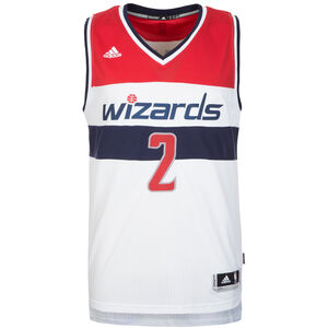 Washington Wizards Wall Swingman Basketballtrikot Herren, Weiß, zoom bei OUTFITTER Online