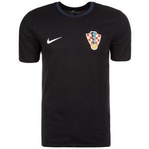 Kroatien Crest T-Shirt WM 2018 Herren, schwarz / dunkelblau, zoom bei OUTFITTER Online