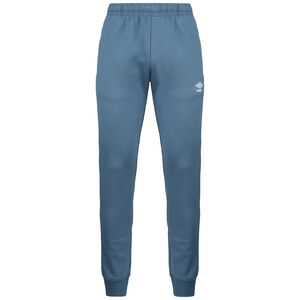 Tapered Fleece Trainingshose Herren, hellblau / weiß, zoom bei OUTFITTER Online
