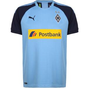 Borussia Mönchengladbach Trikot Away 2019/2020 Herren, hellblau / dunkelblau, zoom bei OUTFITTER Online