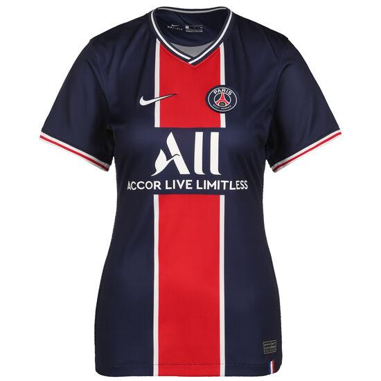Paris St.-Germain Trikot Home Stadium 2020/2021 Damen, dunkelblau / weiß, zoom bei OUTFITTER Online