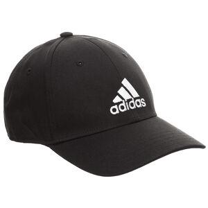 Baseball Strapback Cap, schwarz / weiß, zoom bei OUTFITTER Online