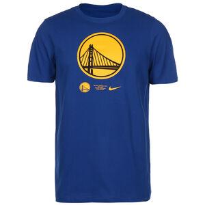 NBA Golden State Warriors Dry Logo T-Shirt Herren, blau / gelb, zoom bei OUTFITTER Online