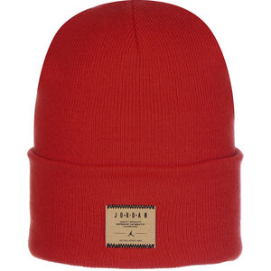 Jordan Cuffed Utility Beanie, rot, zoom bei OUTFITTER Online