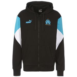 Olympique Marseille FtblCulture Trainingsjacke Herren, schwarz / blau, zoom bei OUTFITTER Online