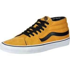 Sk8-Mid Sneaker Herren, gelb / weiß, zoom bei OUTFITTER Online
