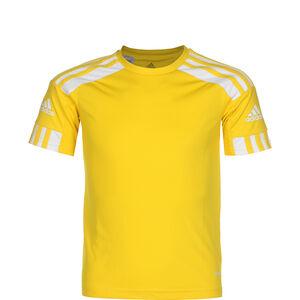 Squadra 21 Fußballtrikot Kinder, gelb / weiß, zoom bei OUTFITTER Online