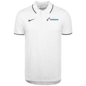 Mainova Polo TM Club19 SS Poloshirt Herren, weiß / schwarz, zoom bei OUTFITTER Online