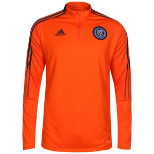 New York City FC Trainingssweat Herren, orange / schwarz, zoom bei OUTFITTER Online