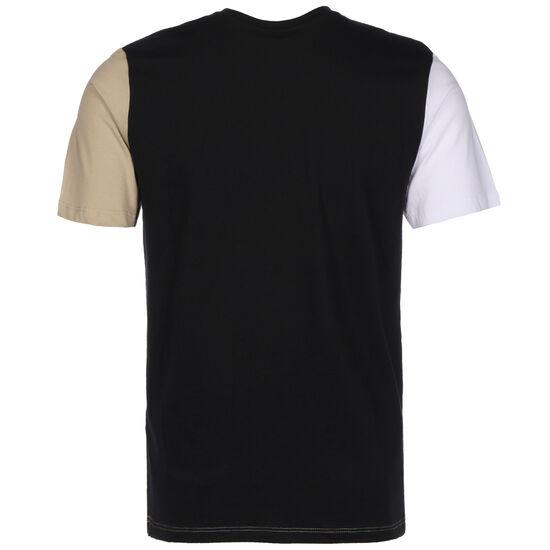 Colourblock T-Shirt Herren, beige / schwarz, zoom bei OUTFITTER Online