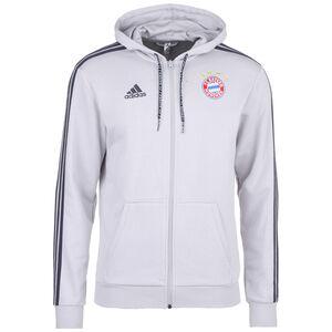 FC Bayern München Kapuzenjacke Herren, grau, zoom bei OUTFITTER Online