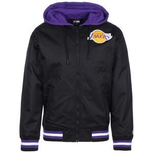 NBA Los Angeles Lakers Contrast Bomberjacke Herren, schwarz / lila, zoom bei OUTFITTER Online