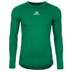 AlphaSkin Sport Trainingsshirt Herren, grün, zoom bei OUTFITTER Online