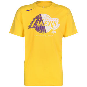 NBA Los Angeles Lakers Dry Logo T-Shirt Herren, gelb, zoom bei OUTFITTER Online