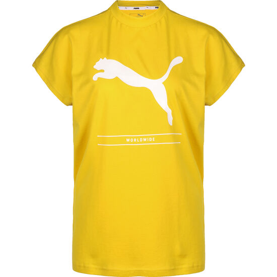 Nu-Tility Trainingsshirt Damen, gelb, zoom bei OUTFITTER Online
