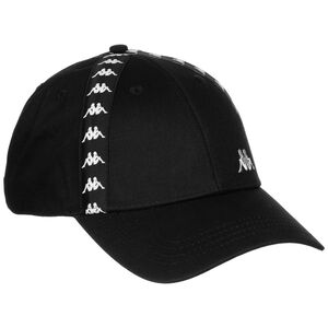 Authentic Deno Strapback Cap, schwarz / weiß, zoom bei OUTFITTER Online