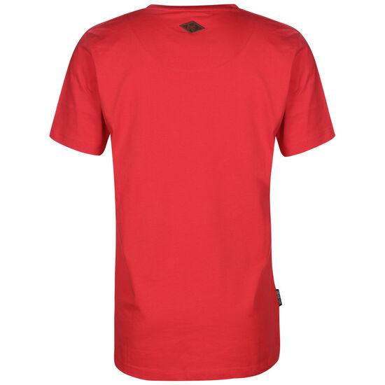 Unfair Classic Label T-Shirt Herren, rot / weiß, zoom bei OUTFITTER Online